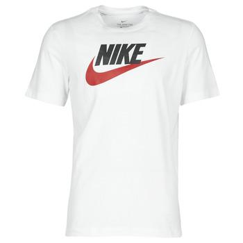 Oblečenie Muži Tričká s krátkym rukávom Nike M NSW TEE ICON FUTURA Biela