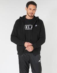 Oblečenie Muži Mikiny Nike M NSW CLUB HOODIE FZ BB Čierna