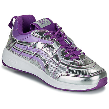 Topánky Dievčatá Kolieskové topánky Heelys NITRO Strieborná / Fialová