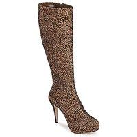 Topánky Ženy Čižmy do mesta Sebastian FLOC-LEO Leopard