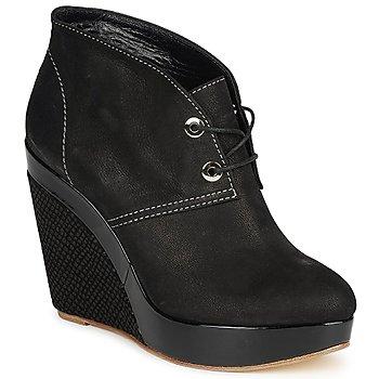 Topánky Ženy Nízke čižmy Gaspard Yurkievich C4-VAR8 Čierna