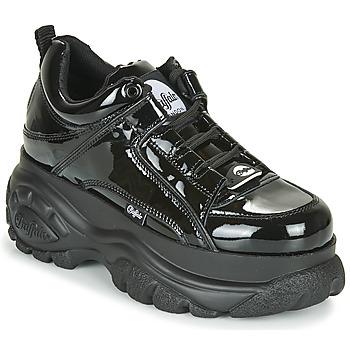 Topánky Ženy Nízke tenisky Buffalo 1533043 Čierna / Lakovaná