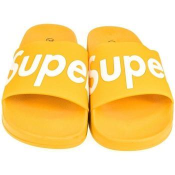 Topánky Ženy športové šľapky Seastar Dámske žlté šľapky SUPER žltá