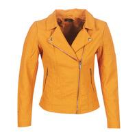 Oblečenie Ženy Kožené bundy a syntetické bundy Only ONLMEGAN Žltá