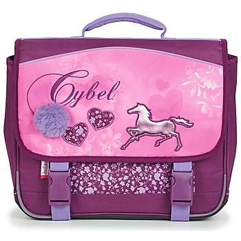 Tašky Dievčatá Školské tašky a aktovky Rentrée des classes CYBEL CARTABLE 38 CM Ružová