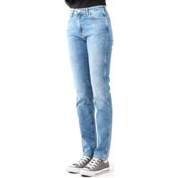 Oblečenie Ženy Rifle Skinny  Wrangler Boyfriend Best Blue W27M9194O blue