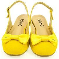 Topánky Ženy Sandále John-C Dámske žlté sandále SIARA žltá