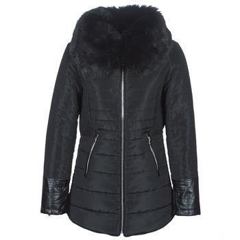 Oblečenie Ženy Vyteplené bundy Betty London LACAMAS Čierna