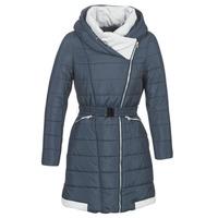 Oblečenie Ženy Vyteplené bundy Betty London LOLAPO Modrá / Námornícka modrá