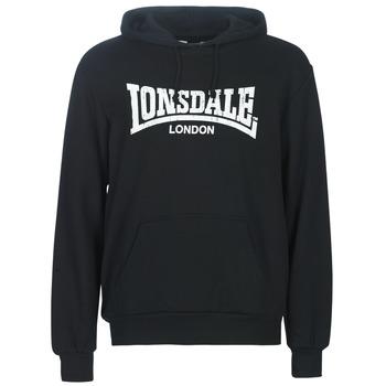 Oblečenie Muži Mikiny Lonsdale WOLTERTON Čierna