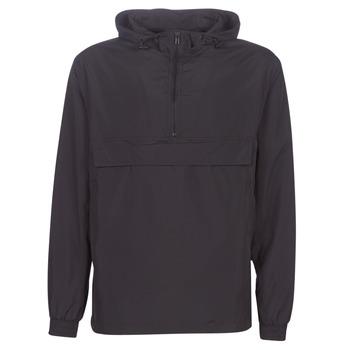 Oblečenie Muži Vetrovky a bundy Windstopper Urban Classics BASIC PULL OVER JACKET Čierna