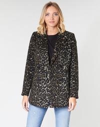 Oblečenie Ženy Kabáty Vero Moda VMCOCOLEOPARD Hnedá