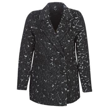 Oblečenie Ženy Kabáty Vero Moda VMCOCOLEOPARD Šedá