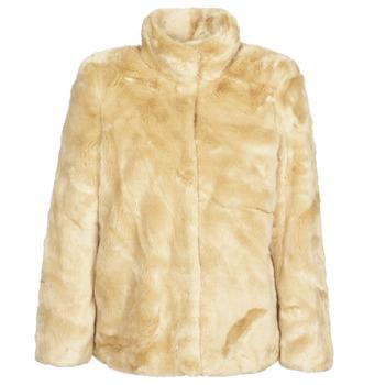 Oblečenie Ženy Kabáty Vero Moda VMMINK Béžová