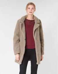 Oblečenie Ženy Kabáty Vero Moda VMZAPPA Béžová