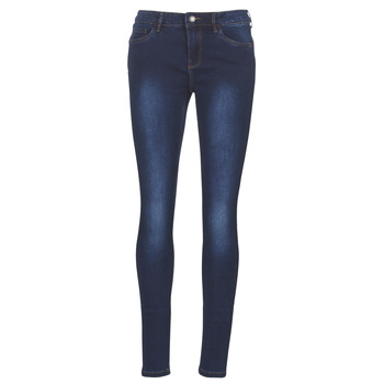 Oblečenie Ženy Džínsy Slim Vero Moda VMSEVEN Modrá
