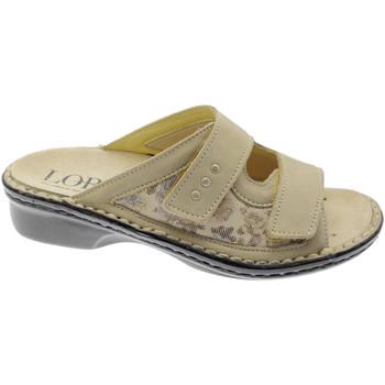 Topánky Ženy Šľapky Calzaturificio Loren LOM2714be marrone