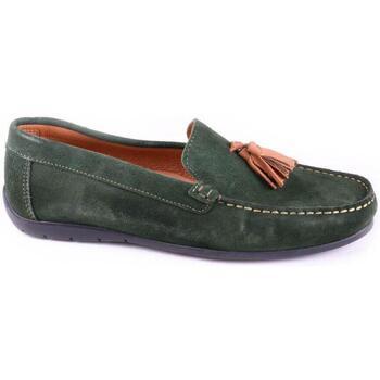 Topánky Muži Mokasíny Keelan 58846 GREEN