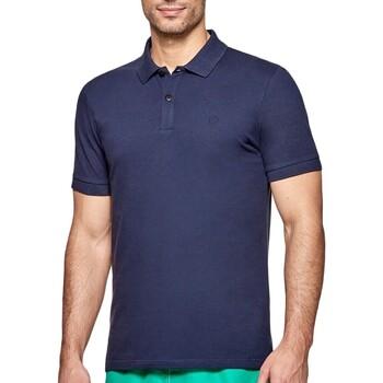 Oblečenie Muži Polokošele s krátkym rukávom Impetus 7305G05 E97 Modrá