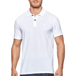 Oblečenie Muži Polokošele s krátkym rukávom Impetus 7305G05 001 Biela