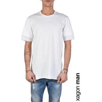 Oblečenie Muži Tričká s krátkym rukávom Xagon Man  Biela