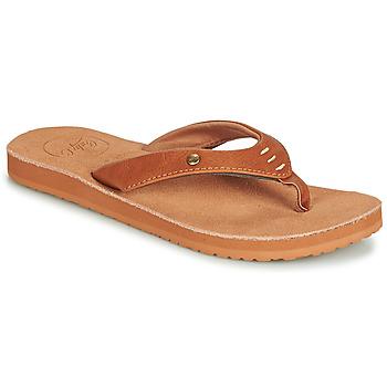 Topánky Ženy Žabky Cool shoe COASTAL Koňaková