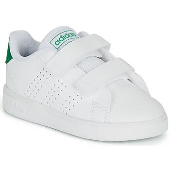 Topánky Deti Nízke tenisky adidas Originals ADVANTAGE I Biela