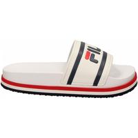 Topánky Ženy Nazuvky Fila FLATFORM SHOES 02p-white-stripe