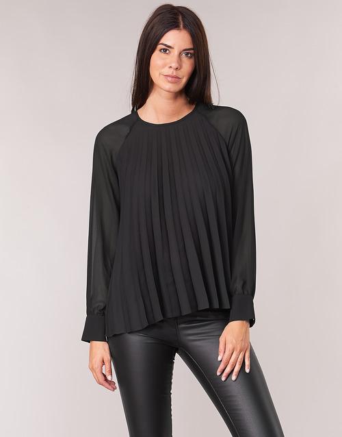Oblečenie Ženy Blúzky Moony Mood LAURA Čierna