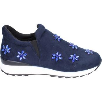 Topánky Dievčatá Slip-on Holalà BR386 Modrá