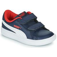 Topánky Chlapci Nízke tenisky Puma SMASH Námornícka modrá