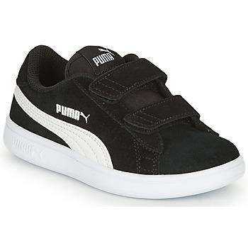 Topánky Chlapci Nízke tenisky Puma SMASH V2 SD V Čierna