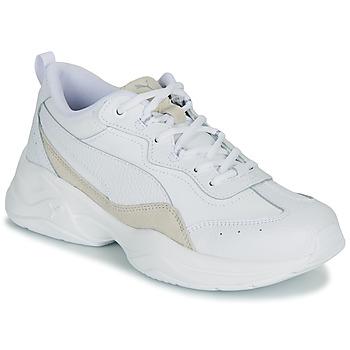 Topánky Ženy Nízke tenisky Puma CILIA LUX Biela