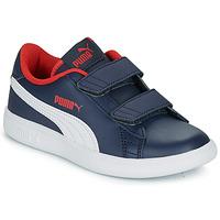 Topánky Chlapci Nízke tenisky Puma SMASH V2 L V PS Námornícka modrá
