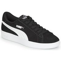 Topánky Chlapci Nízke tenisky Puma Puma Smash v2 SD Jr Čierna