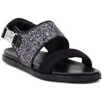 Topánky Ženy Sandále Carmens Padova GLITTER FUMO Multicolore