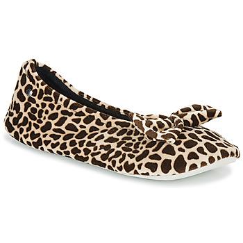 Topánky Ženy Papuče Isotoner 95991 Hnedá