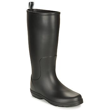 Topánky Muži Čižmy do dažďa Isotoner 96523 Čierna