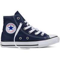 Topánky Muži Členkové tenisky Converse Chuck taylor all star hi Modrá