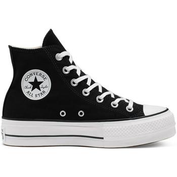 Topánky Ženy Členkové tenisky Converse Chuck taylor all star lift hi Čierna