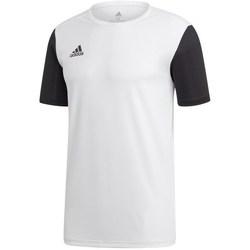 Oblečenie Muži Tričká s krátkym rukávom adidas Originals Estro 19 Biela,Čierna