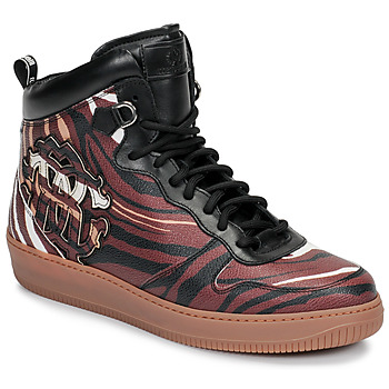 Topánky Muži Členkové tenisky Roberto Cavalli 8343 Viacfarebná