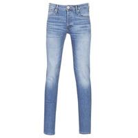 Oblečenie Muži Džínsy Slim Jack & Jones JJIGLENN Modrá