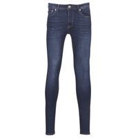 Oblečenie Muži Džínsy Skinny Jack & Jones JJILIAM Modrá