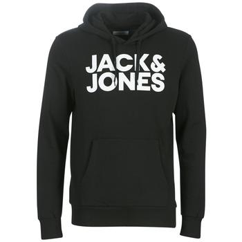 Oblečenie Muži Mikiny Jack & Jones JJECORP LOGO Čierna
