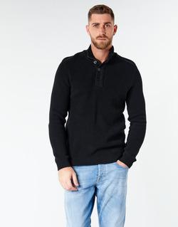 Oblečenie Muži Svetre Jack & Jones JCOWELLINGTON Čierna
