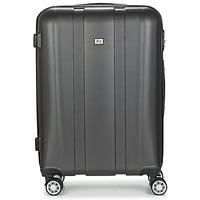 Tašky Pevné cestovné kufre David Jones CHAUVETTO 72L Šedá