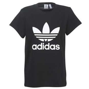 Oblečenie Ženy Tričká s krátkym rukávom adidas Originals BOYFRIEND TEE Čierna