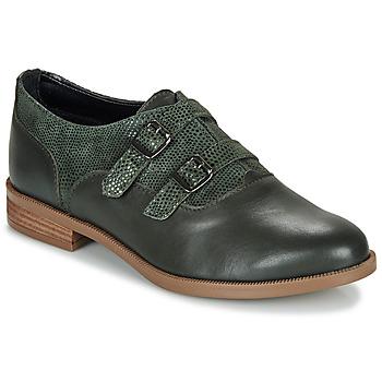 Topánky Ženy Derbie André ESMA Zelená