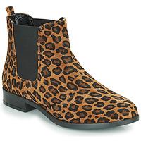 Topánky Ženy Polokozačky André ELEGANTE Leopard